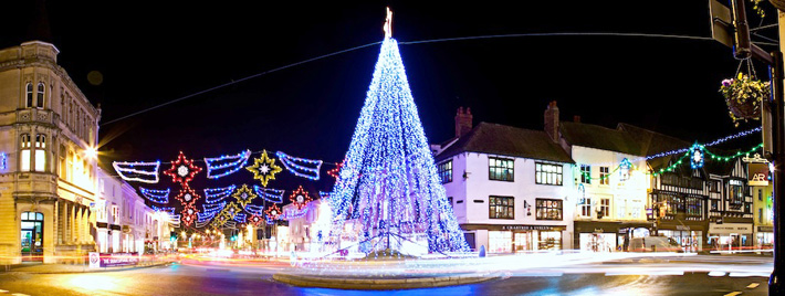 Stratford upon Avon Christmas Lights