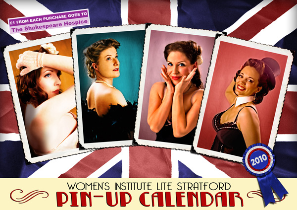 WI Lite Stratford Pin-up Calendar supporting The Shakespeare Hospice