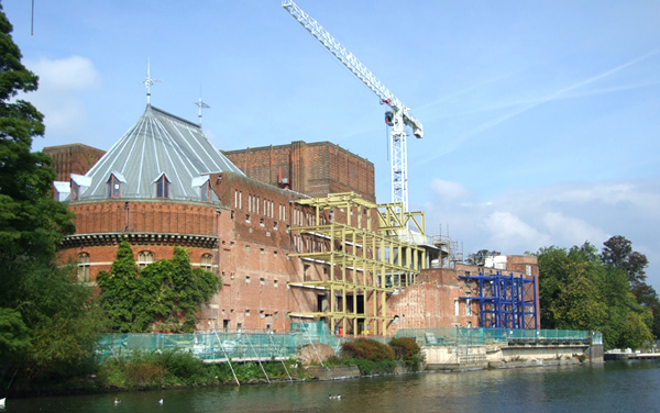 Transforming The RSC, Stratford upon Avon