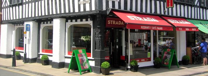 Strada Restaurant, Stratford upon Avon